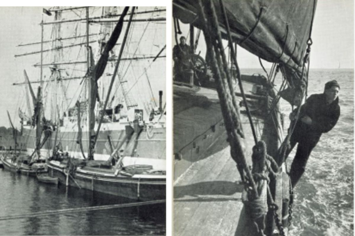 Old sailing pictures
