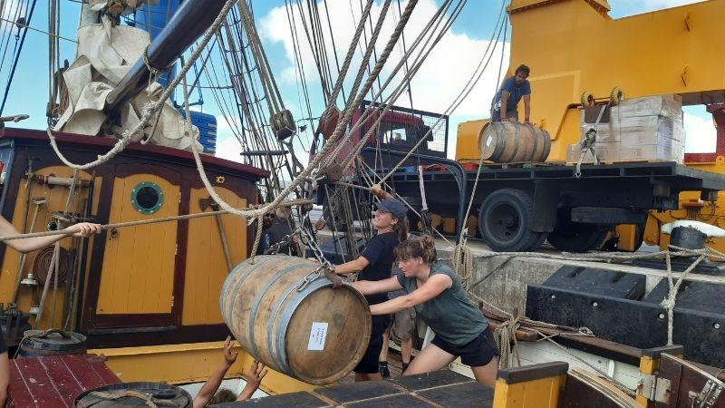 Sailing Cargo and the Sustainable Development Goals: Goal 1 &  8