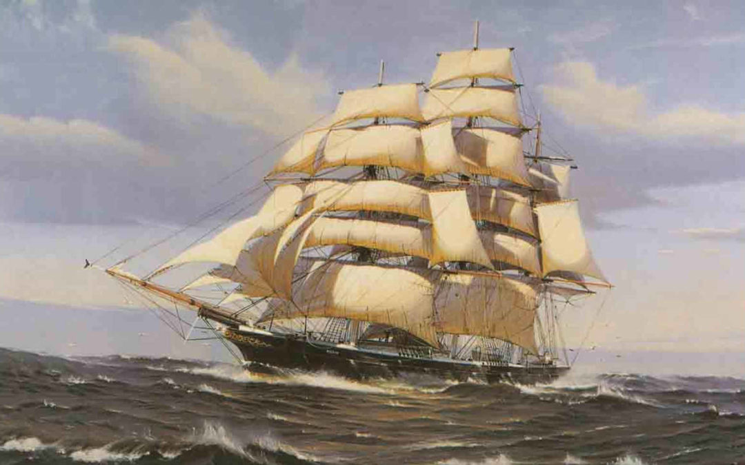 "3 reasons why we use Clipper ship ""Noach"" as an inspiration for the prototype500."