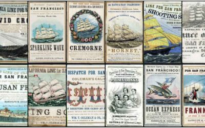 Clipper Ship Cards: Hidden gems of the 19th Century